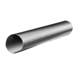 Slang flexibel aluminium Ø 100 mm 2,5 meter