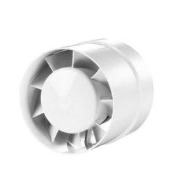 Buisventilator 125 mm Basic – wit
