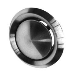 Afzuigventiel RVS Ø125 mm