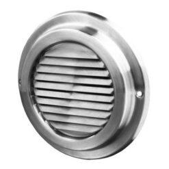 Ventilatierooster rond RVS Ø150 mm
