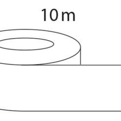 Afdichtingstape 10 meter aluminium