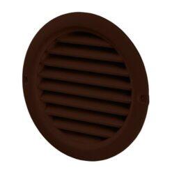 Rooster rond kunststof bruin Ø 150 mm