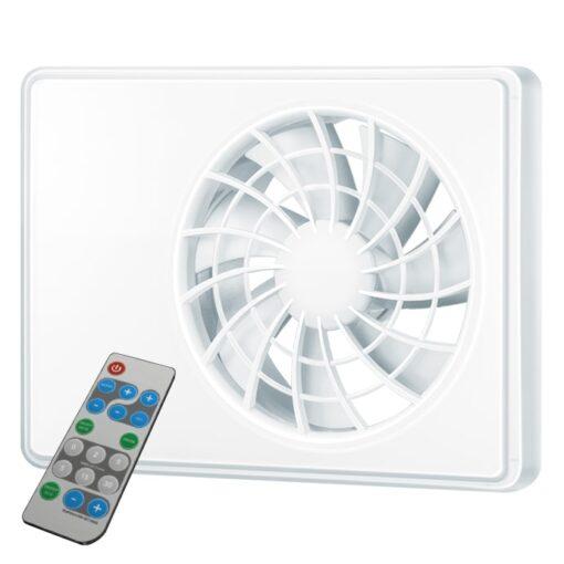 Badkamerventilator iFAN met afstandsbediening 100 – 125 mm