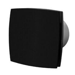 Badkamerventilator Silent vochtsensor/timer 100mm mat zwart