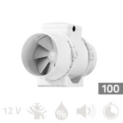 Buisventilator 100mm Pro