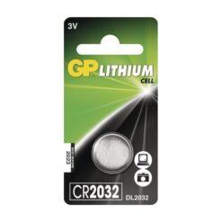 Batterij GP Lithium CR2032 knoopcell