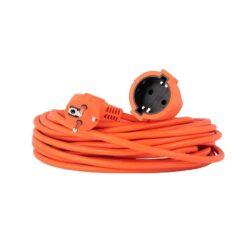 Verlengsnoer / tuinsnoer oranje 10 meter