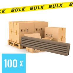BULK 100x Deurrooster limba 453×90 mm
