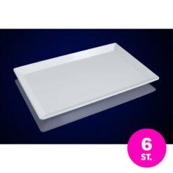 Bulk – 6x Melamine dienblad PRO – 53,5 x 32,5 cm