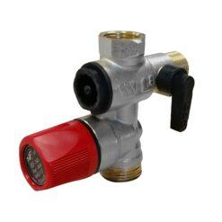 Inlaatcombinatie-set 8 bar met KIWA-keur voor 30-100L boilers